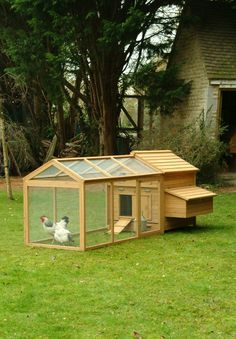 Chicken Coop / House and Run at Garden Trading. $350