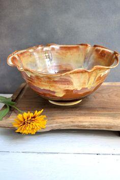 Lee Wolfe Pottery — Ceramic Flower Bowl