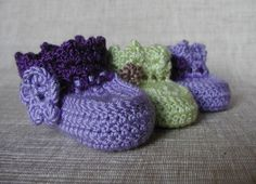 Baby booties free pattern download