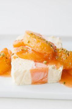 Sparkling Peach Semifreddo (gluten-free)