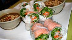 Healthy Spring Rolls - fresh, gluten free, can be vegan - very versatile recipe