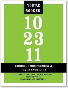 invit, books, postcards, idea, save, dates, green, book itparadis, paradise