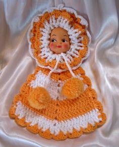 Deb's V-Stitch Granny (Dishcloth) Free Crochet Pattern