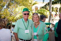 Emmanuel College Alumni St. Patrick's Event   Naples, FL   3.15.14 - Yvan & Martha Wilson Pilette '64
