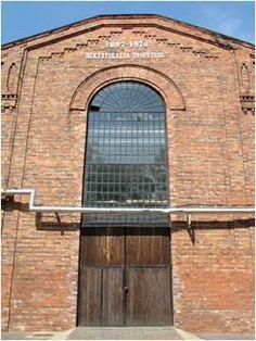 #Big window at a warehouse.