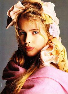 Vogue Italia, February 1989 Claudia Schiffer