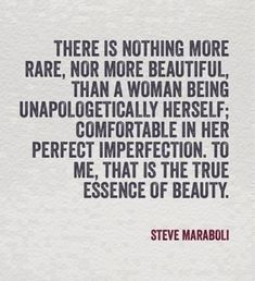 There is nothing more rare..