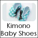 Several DIY Baby sewing projects. I SO want to try these Kimono Baby Shoes!