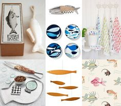 Add a few fishy finds to your decor with these picks from our home design director @sarahrdesign.