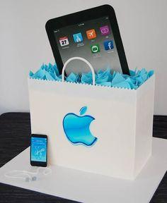 Cake Wrecks - iPad Cake
