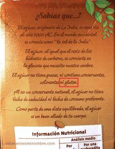 El azucar no tiene gluten, genial post de Celiaca no es mi nombre #singluten