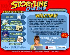 Storyline Online brought to you by the Screen Actor Guild Foundation. SAG members read children's literature aloud. Stories include accompanying activities and lesson ideas. www.storylineonline.net via freetech4teachers.com