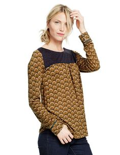 Chepstow Top WL835 Long Sleeved Tops at Boden- dying over this! #sickening