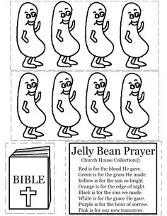 Jelly Bean Prayer Cutout activity sheet for kids Cut On Dotted Line.png (816×1056)