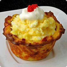Breakfast cupcake #food #breakfast For guide + advice on healthy lifestyle, visit http://www.thatdiary.com/