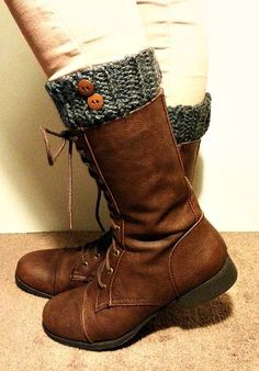 Boot Cuff Crochet Boot Cuff Boot Cuff with by DeerwoodCreekGifts, $17.00