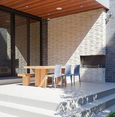Terrace4 Modern House Nearby Lake Michigan With a Sense of Verticality by Joseph Trojanowski