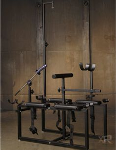 The Extreme Punishment Bench Dungeon Furniture #bdsm