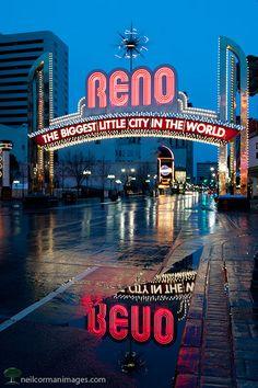 Reno, Nevada - the biggest little city