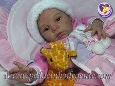 Reborn Doll Haika by Pedacinho de Gente