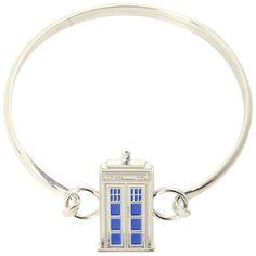 Doctor Who Tardis Bangle Bracelet