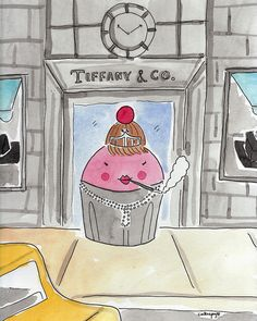 Cupcakes at Tiffany's!