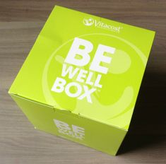 VitaCost Be Well Box - Monthly Wellness Subscription Service #subscriptionbox #subscription