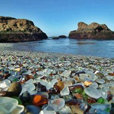 Glass Beach... Mendocino, CA. have visited this place several times. amazing place to see
