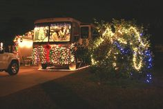 Some people really go out of their way to decorate their motorhomes for the Christmas season! Would you do this to your RV? Check out hartranchresort.com for the latest in RV camping fun!