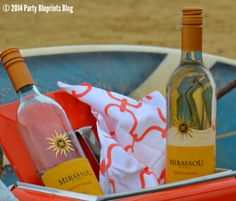 How To Host An Easy Beach Picnic Party With #Mirassou Wine.  Hosting Tips and Recipes!
