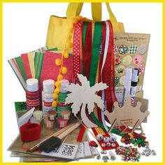 Supply Sack from DIYGreek.com. Everything you need to make the best sister gifts. Custom Stencils, Paints, Great Ribbons, Wood Letters, Charms, Beads, AND TONS MORE> all only $24.99 #alpha sigma alpha, #asa #craft, #sorority, #little sister, #gift, #handmade, #greek