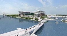 New Baylor University Football stadium drawing #Baylor