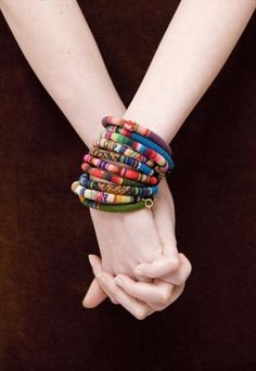 Rainbow Peruvian Bracelets