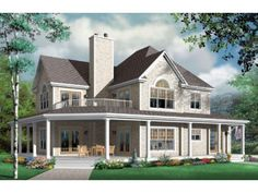 Beautiful open floor plan with upper and lower porch. Two master suites.  Jack & Jill bath upstairs.