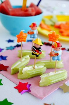 Healthy party food for kids.