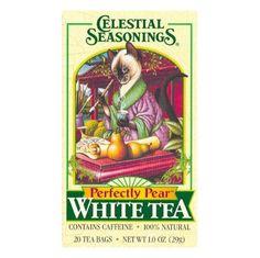 celestial seasonings tea tins | Celestial Seasonings Perfectly Pear White Tea (Celestial Seasonings ...