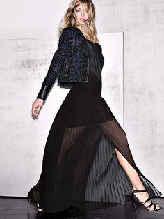 fall clothing, pleat maxi, victoria secrets, fall fashions, fall shoes