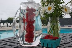Fruit Infused Water or Iced Tea - one of my favorite #bridal #shower #gifts