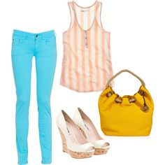 Bright Jeans 101, created by saratoeppler on Polyvore