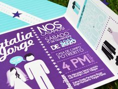 Invitaciones de boda * Wedding invitation