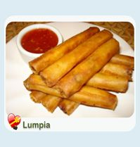 Filipino - Lumpia with Dipping Sauce