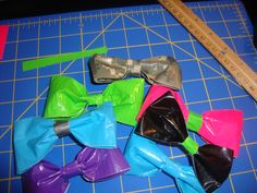 Duck Tape Bows!!!