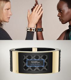The MICA bracelet receives texts and call notifications, as well as alerts from Google (including Google Calendar), Facebook and even restaurant recommendations from Yelp.