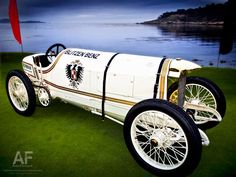 1909 Blitzen-Benz at the 2011 Pebble Beach Concours d'Elegance.    Photo: Royce Rumsey
