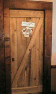diy barn door bathroom door