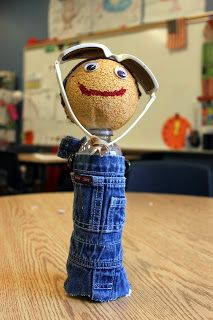 Water bottle historical biographies - SO CUTE!