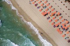 à la plage by Gray Malin  Place : Pampelonne Beach St. Tropez