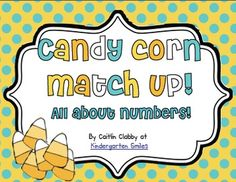 FREE!  Candy Corn Game: All About Numbers!