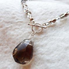 DIY Toggle Pendant Necklace