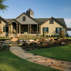 Exterior Ranch Style Paint